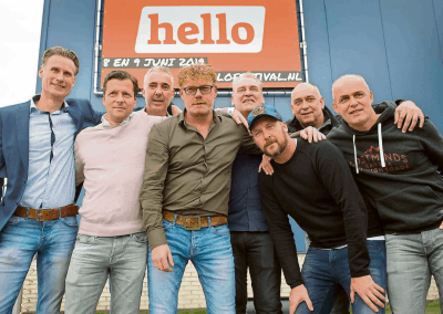 Overgang naar hello festival in de media